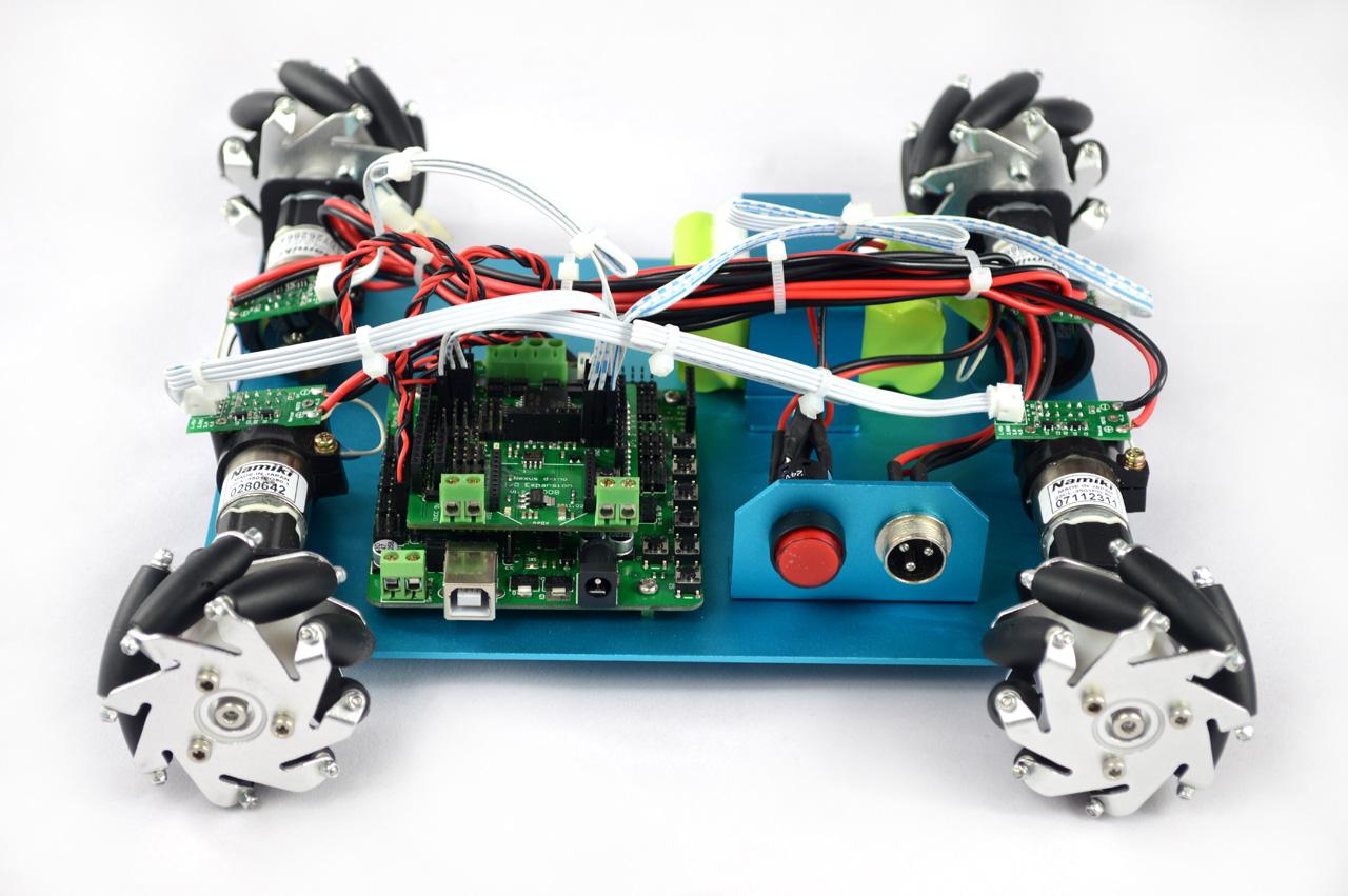 Wd mm mecanum wheel arduino robot kit nexus